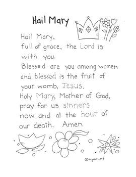 Five Favorite Prayers Booklet