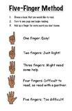 Five Finger Method of Choosing a Book