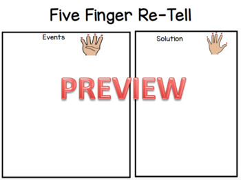 Five Finger Re-Tell