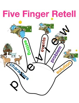 Five Finger Retelling TC Beginning Middle problem solution