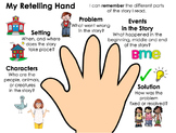 Five Finger Retell Graphic Organizer