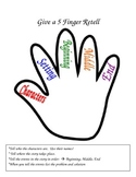Five Finger Retell Handout