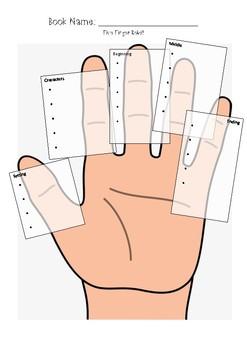 Five Finger Retell Worksheet