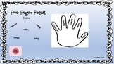 Five Finger Retelling Fiction