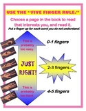 Five Finger Rule Display