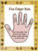 Five Finger Rule Posters