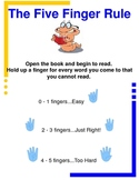 Five Finger Rule to Reading