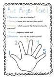 Five Finger Story Retell Prompt