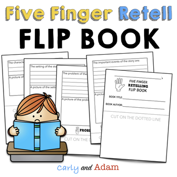 Five Finger Story Retell Worksheets Teaching Resources TpT