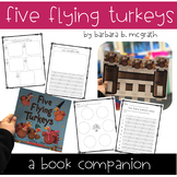 Five Flying Turkeys - Thanksgiving Book Companion