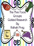 Five Food Groups Expository Research Writing