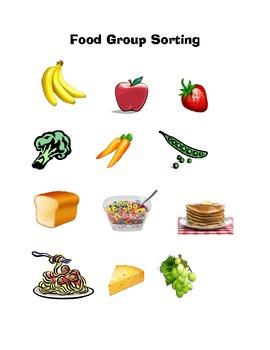 Five Food Groups Workbook For Preschool
