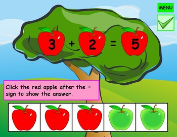 Kindergarten Addition Five Frames