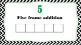 Five Frame Addition Subitizing