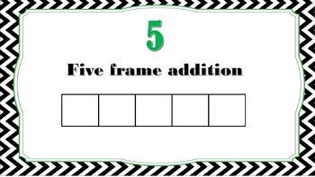 Five Frame Addition Subitizing
