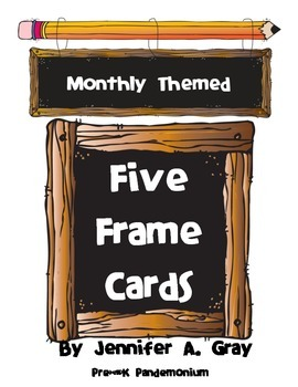 Five Frame Cards (monthly themes)