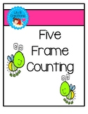 Five Frame Counting Book - Colorful Fireflies