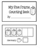 Five Frame Counting Book - Pumpkins