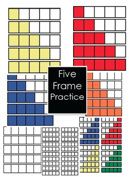 Five Frame Math Practice