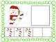 Five Frame Number Match 0-5 Math Center - Christmas Themes