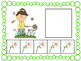 Five Frame Number Match 0-5 Math Center - Spring Themes
