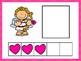 Five Frame Number Match -Valentine's Day