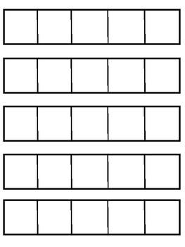 Five Frame Strips