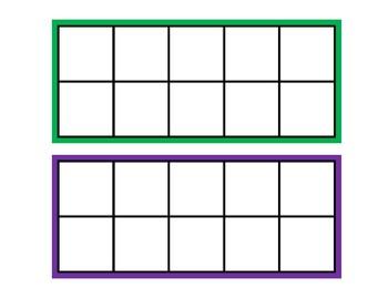 Five Frame and Ten Frame Fun