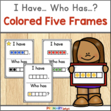 Five Frames Game with I Have Who Has | for 26 students