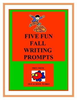 Five Fun Fall Writing Prompts