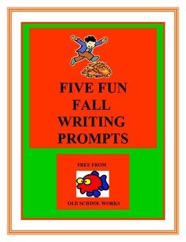 Five Fun Fall Writing Prompts