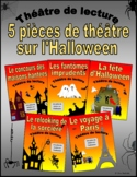 Five French Halloween Plays (French Reader's Theatre)