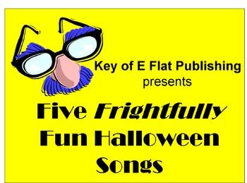 Five Frightfully Fun Halloween Songs Performance Package