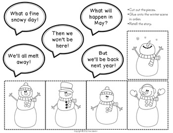 Five Frosty Snowmen
