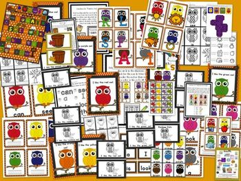 Five Fun OWL Literacy Centers for Word Work