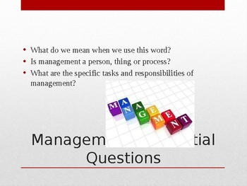 Five Functions of Management