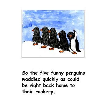 Five Funny Penguins Book and Game Freebie!