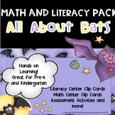 Five Furry Bats:  A Math and Literacy Pack for Preschool and Kindergarten