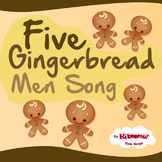 Five Gingerbread Men Song