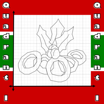 Five Golden Rings - A Quadrant I Coordinate Graphing Activity