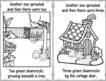 Five Green Shamrocks (Pocket Chart Activity)