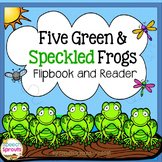 Five Green & Speckled Frogs Interactive Book & Reader