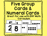 Five Group Cards & Numeral Cards- Common Core- ENY Supplement