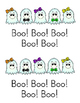 Five Happy Ghosts Sight Word Reader