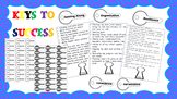 Five Keys to Success - Classroom Posters and Behaviour Management