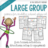 Five Large Group Games Packet