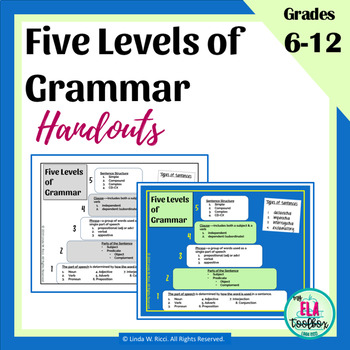 Five Levels of Grammar Cake