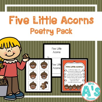 Five Little Acorns Poetry Pack