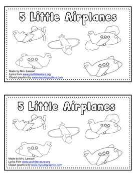 Five Little Airplanes