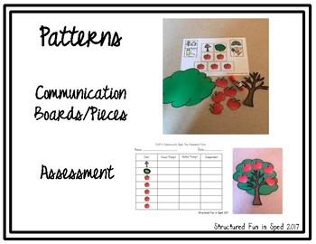 Five Little Apples Tree Craft & Communicate Series